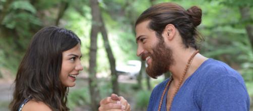Daydreamer, spoiler 3 agosto: Can e Sanem si comportano da innamorati.