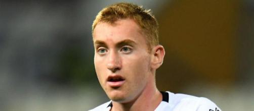 Dejan Kulusevski, centrocampista offensivo in prestito al Parma ma di proprietà della Juventus.