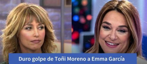 Emma García y Toñi Moreno en imagen