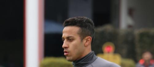 Thiago Alcantara, centrocampista del Bayern Monaco.