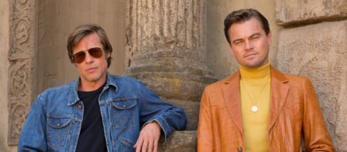 Brad Pitt y Leonardo Di Carpio forman parte del elenco. - nme.com