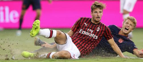 Matteo Gabbia, difensore del Milan.