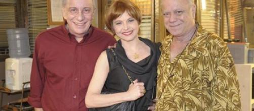 Drica fez participação na série 'A Grande Família'. (Reprodução/TV Globo)