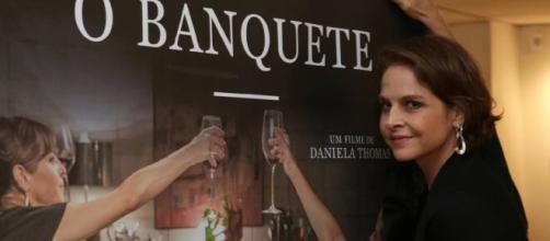 Drica Moraes brilhou no filme 'O Banquete'. (Arquivo Blasting News)