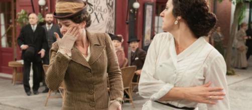 Una vita, trame Spagna: Lolita schiaffeggia Genoveva dopo averla smascherata.