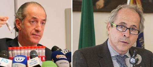 Coronavirus: Andrea Crisanti critica Luca Zaia.