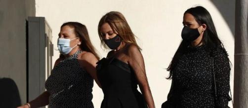 El vestido de Ana Obregón rinde homenaje a su hijo Alex Lequio en su funeral