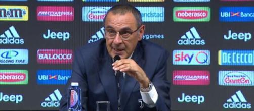 Juventus, Sarri: 'Ammonizione di Dybala? Dal campo ho avuto sensazioni diverse'.