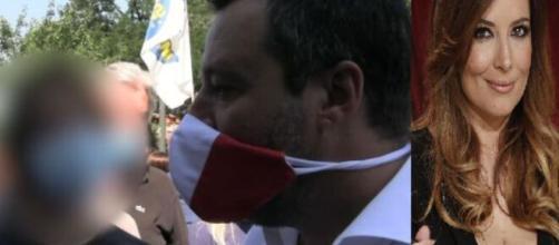 Salvini contestato a Milano dal figlio di Selvaggia Lucarelli. Blasting News