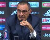 "Juventus, Sarri: ""L'unico con cui litigo è Higuain''."