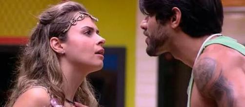 Ana Paula e Renan protagonizaram uma das maiores discussões do BBB. (Reprodução/TV Globo)