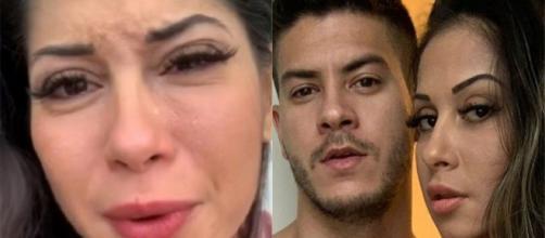 Exposed de Mayra acaba chegando na mãe da ex-panicat. (Arquivo Blasting News)