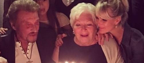 Laeticia Hallyday a souhaité un joyeux anniversaire à Line Renaud non sans émotion - Photo capture d'écran Instagram