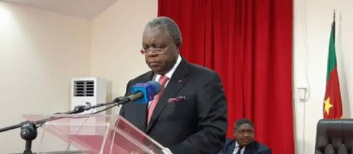 René Emmanuel Sadi, Ministre de la Communication du Cameroun (c) Mincom