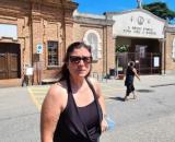 Barbara Iammarino, l'impiegata 51enne che vuole sapere la verità sulla sparizione della bara di sua madre dal cimitero di Rivoli.