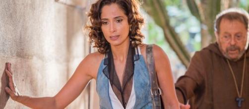Camila Pitanga fez parte do elenco. (Reprodução/TV Globo)