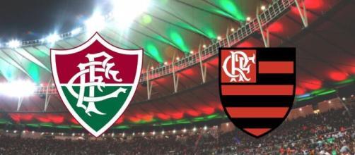 Fluminense x Flamengo terá transmissão ao vivo pela FluTV. (Fotomontagem)