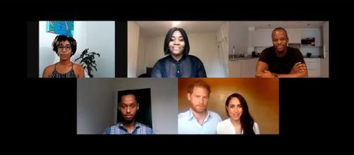 Harry y Meghan hablan con jóvenes líderes sobre la importancia de la igualdad