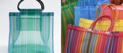 Zara vende bolsas de mandado en 645 pesos