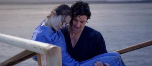 Nella terza stagione di Grey's Anatomy, Meredith Grey rischia di annegare.