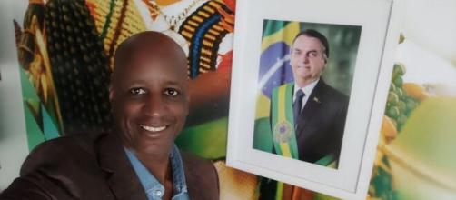 Sérgio Camargo comentou no Twitter sobre uso da cloroquina pelo presidente. (Reprodução/TV Globo)