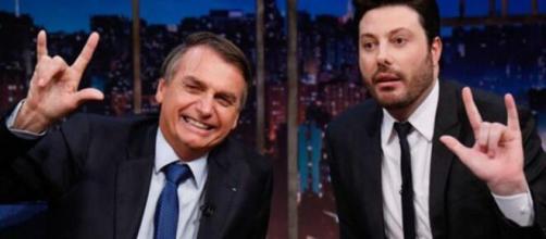 Danilo Gentili diz que Bolsonaro mentiu em várias situações. (Arquivo Blasting News)