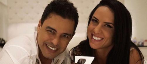 Graciele Lacerda e Zezé Di Camargo planejam engravidar. (Arquivo Blasting News)
