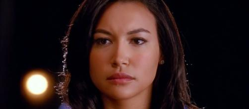 La actriz Naya Rivera en un fotograma de la serie Glee
