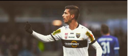 Le FC Lorient signe un espoir et chambre le Stade Brestois - Photo compte Instagram Adrian Grbic