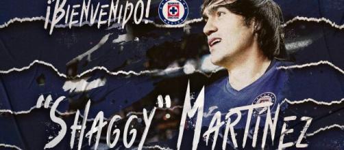 """Shaggy"""" Martínez nuevo refuerzo de Cruz Azul - lopezdoriga.com"""