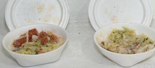 Dois adolescentes foram internados após consumirem as marmitas com veneno. (Reprodução/Rede Globo)