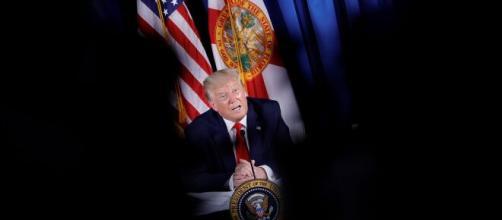 Donald Trump a annoncé ses craintes envers le réseau social Tik Tok ce vendredi 31 juillet, source : capture - Twitter