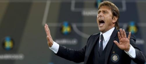 L'allenatore dell'Inter Antonio Conte.
