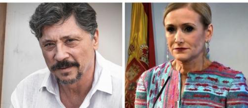Javier Bardem y Cristina Cifuentes en imagen