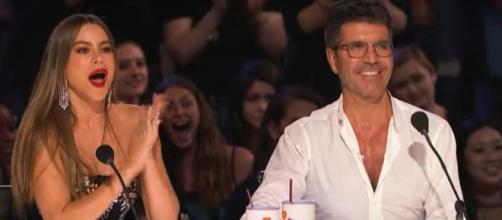 """""""America's Got Talent"""" fans won't see Simon Cowell for the live shows this week, but he'll soon return,[Image source:AGT-YouTube]"""