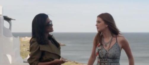 Eliza e Carol entrarão em um embate em 'Totalmente Demais'. (Foto: Globo).