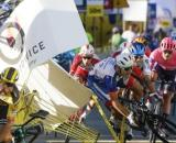 La drammatica caduta di Jakobsen al Giro di Polonia.