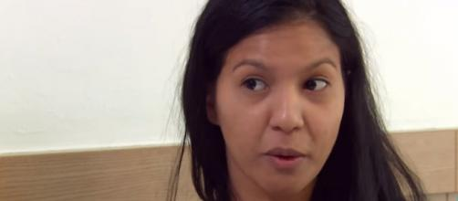 90 Day Fiancé: A pregnant Karine breaks her silence and heads for divorce with Paul. [Image Source: TLC UK/ YouTube]