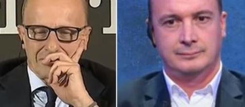 Alessandro Sallusti e Rocco Casalino.
