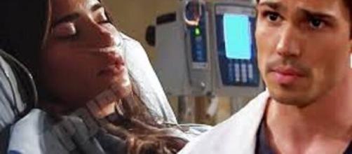 Beautiful, trame Usa: Steffy non può fare a meno degli antidolorifici dopo l'incidente in moto.