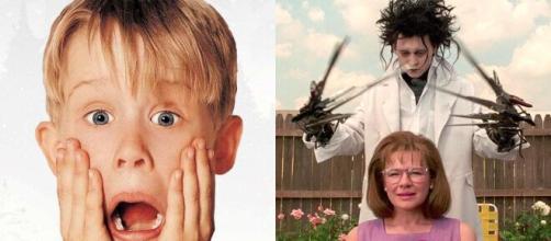 'Esqueceram de Mim' e 'Edward: Mãos de Tesoura' foram os filmes que marcaram o ano de 1990, há 30 anos. (Arquivo Blasting News)