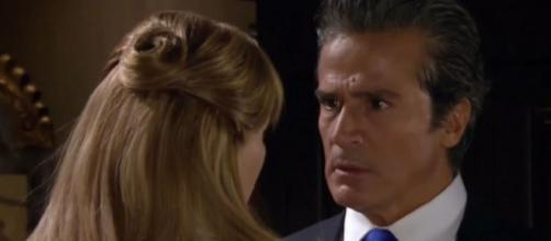 Gonçalo pede o divórcio a Josefina. (Reprodução/Televisa)