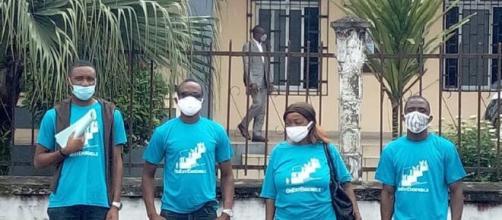 """Membres de l'association 'On est Ensemble"""" à Douala (c) On est Ensemble"""