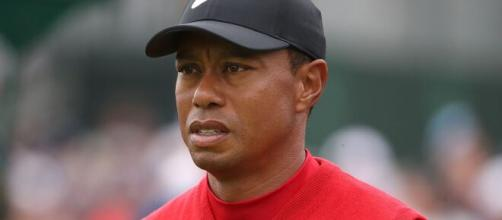 Tiger Woods opening round at the 2020 PGA Championship. [Image source/Tiger Woods Vids YouTube video]
