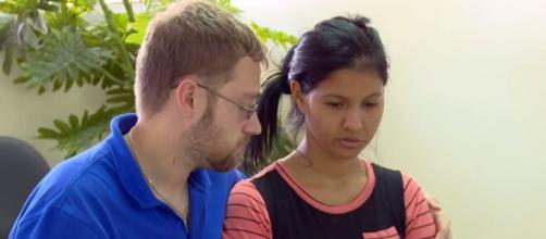 '90 Day Fiancé': Karine allegedly flee to Brazil to avoid at least 5-years of jail time. [Image Source: TLC/ YouTube]