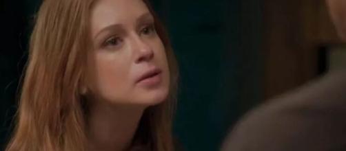 Carol revelará a verdade para Eliza em 'Totalmente Demais'. (Reprodução/TV Globo)