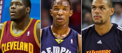 Jogadores como Anthony Bennett, Hasheem Thabeet e Patrick O'Bryant não deram certo na NBA. (Arquivo Blasting News)