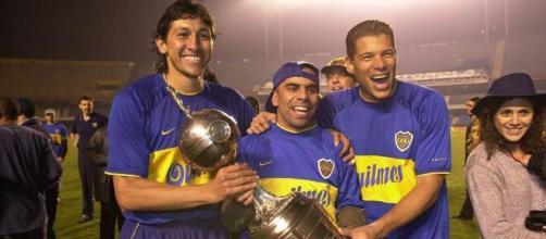 Jorge Bermudéz, Mauricio Serna e Oscar Cordóba foram os colombianos mais vitoriosos da história do Boca Juniors. (Arquivo Blasting News)