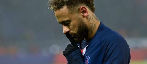 Neymar foi o grande destaque na vitória do PSG sobre a Atalanta. (Arquivo Blasting News)
