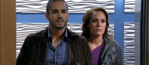 Renata termina com Matias. (Reprodução/Televisa)